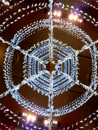 Radio City Music Hall Chandelier from perspective 2