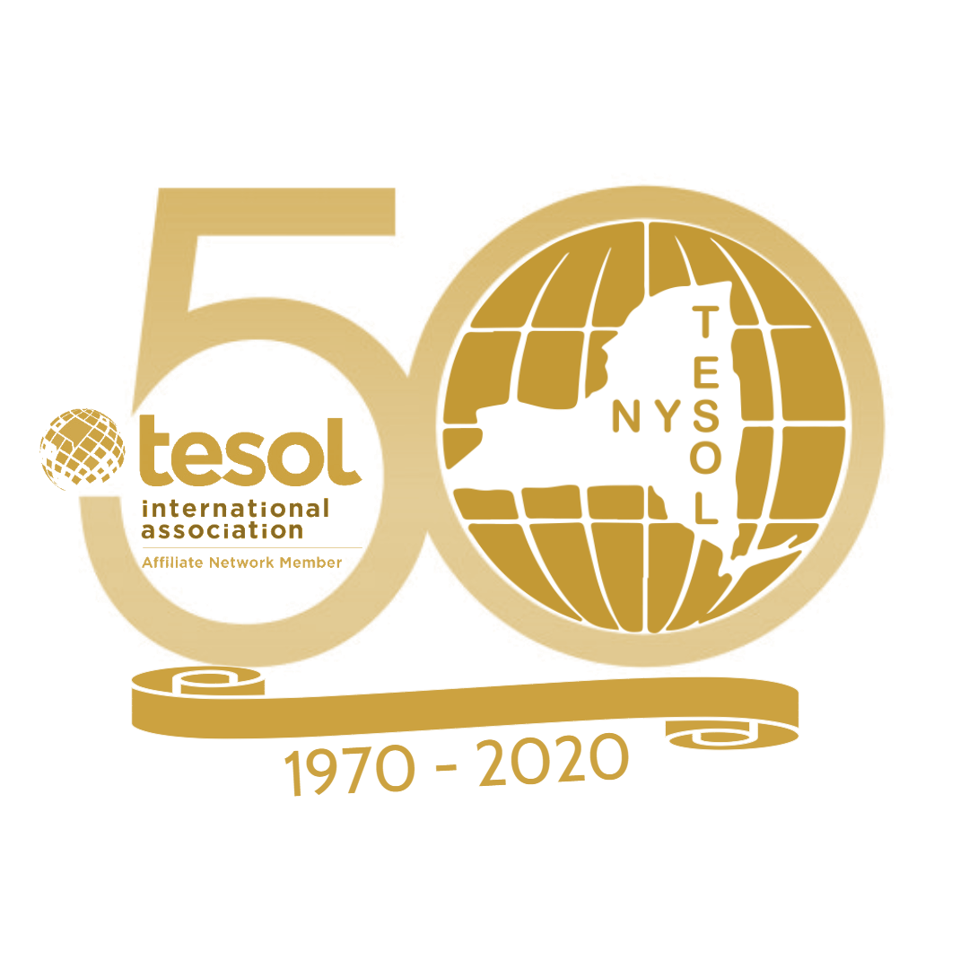 The Virtual NYS TESOL 50th Annual Conference Schedule featuring Diane Larsen-Freeman, Ofelia García, Stephen Krashen